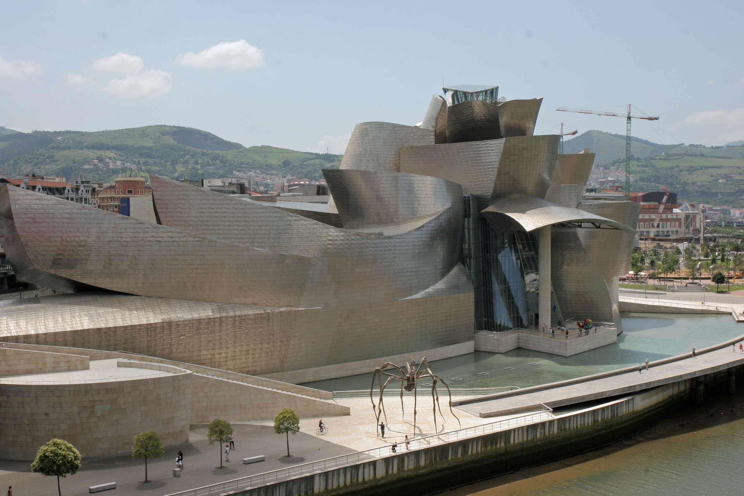 museums bilbao and frank gehry on pinterest