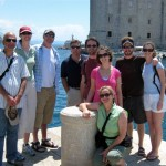 Our group from the tour of Old Town Dubrovnik