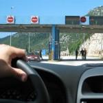 Approaching the Bosnian border