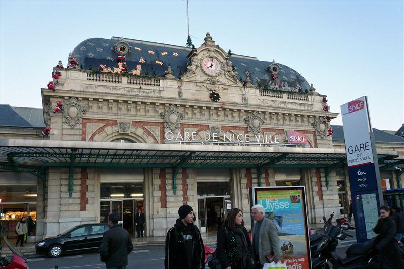 monaco monte carlo train station. The train station in Nice,