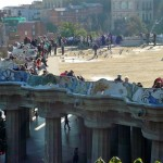 A view of Parc Guell