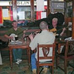 Listening to some traditional Irish music