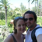 In the endless gardens of the Alcazar
