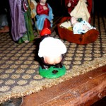 Caganer in the Nativity Scene