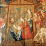 The tapestries in the Vatican were all woven by hand and took 5-10 years each