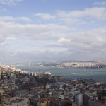 A view of Asia from the Bosphorus tower
