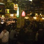 Inside Delirium, a famous pub