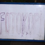 "More phonetic spellings: ""fotokopi"""