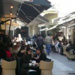 One of the cafe'-lined streets in Heraklion. So inviting!