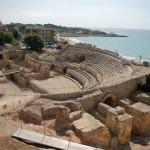 The Roman Amphitheatre in Tarragona, Spain