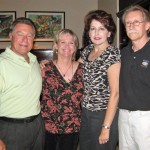 John & Mary with Yvonne & Bob, their lifelong friends