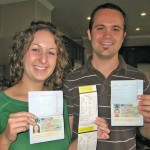 We got our visas!!!! (and 2 parking tickets!)