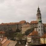 The Cesky Krumlov castle