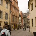 Wandering through the Krumlov streets
