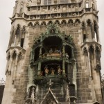The Glockenspiel - often said to be one of the most over-rated attractions in Europe
