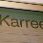 They don't spell it quite right, but Karie is still famous here