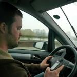 Scott driving on the Autobahn