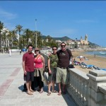 Our day trip to Sitges