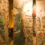 Part of the Berlin Wall, in the Story of Berlin museum